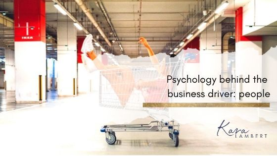 Psychology behind the business driver people staff and customers neuromarketing