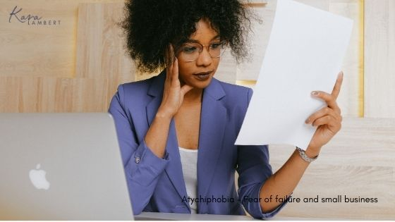 Atychiphobia fear of failure in small business